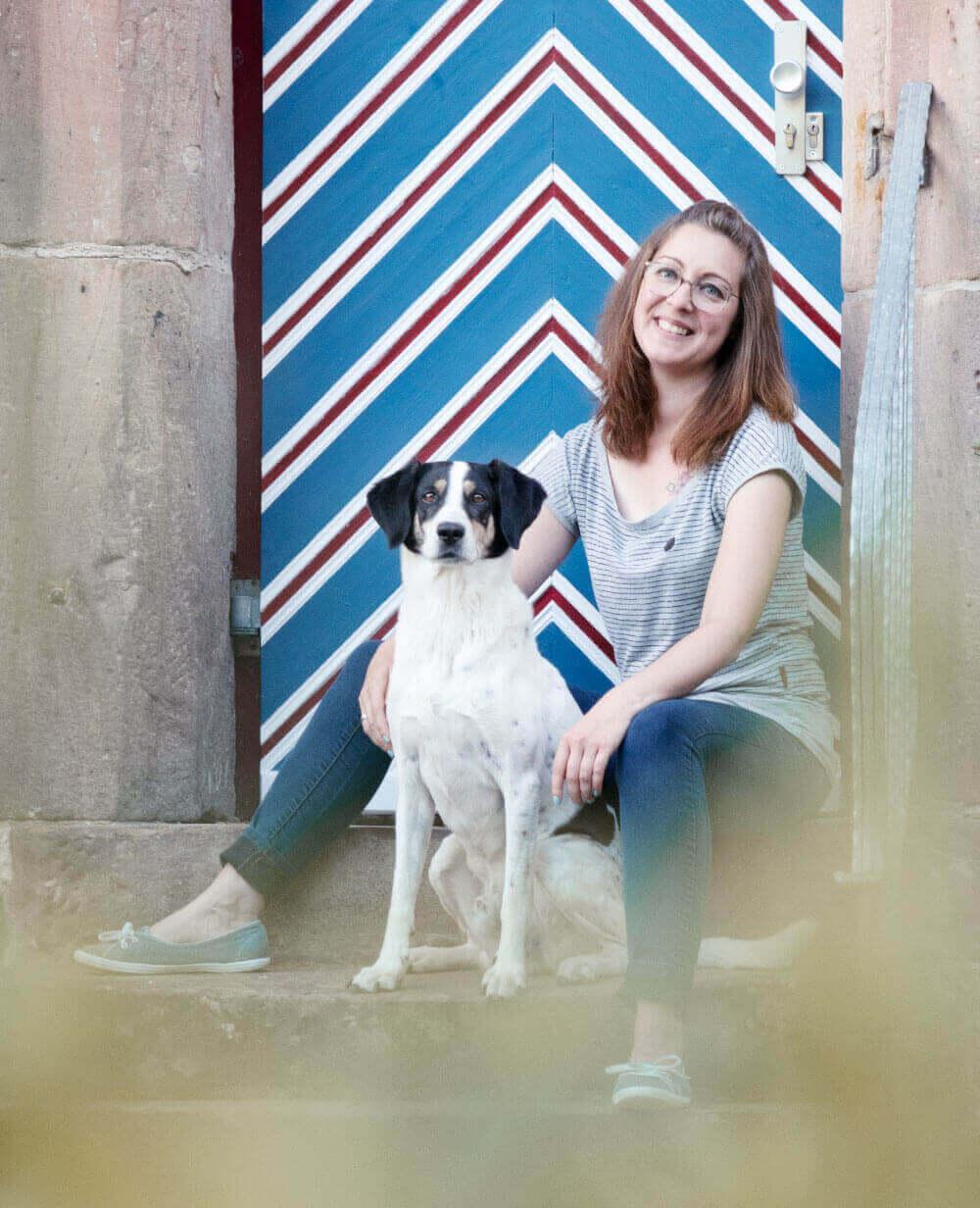 Tanja und Olaf vom DIY Hundeblog Herr Olaf