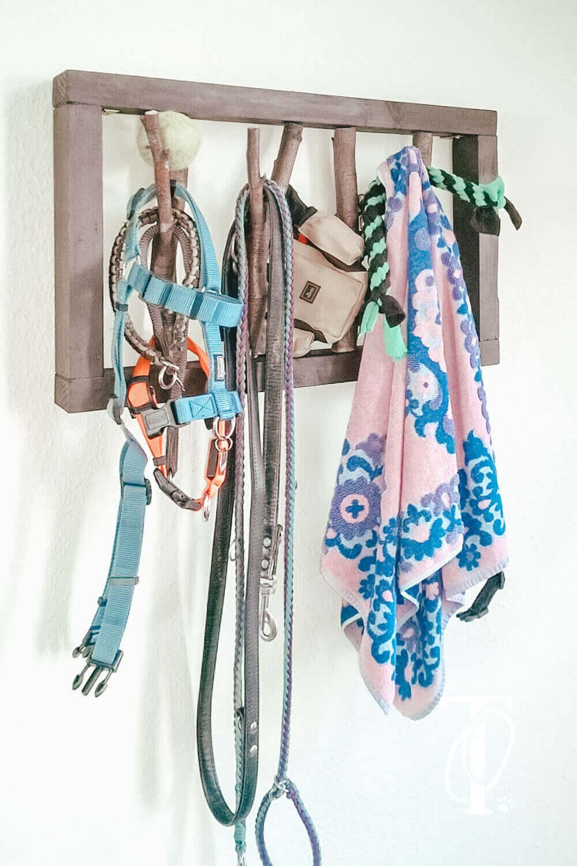 DIY Garderobe für deinen Hund basteln