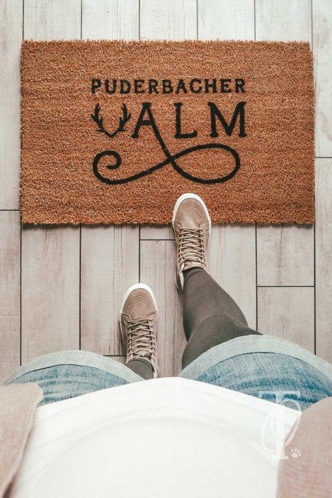 DIY: Fußmatte selbst gestalten und bemalen