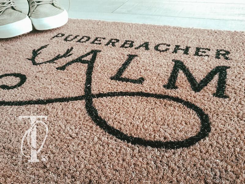 DIY Fußmatte mit Logo