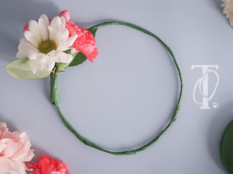 Flower Crown basteln nach DIY Anleitung