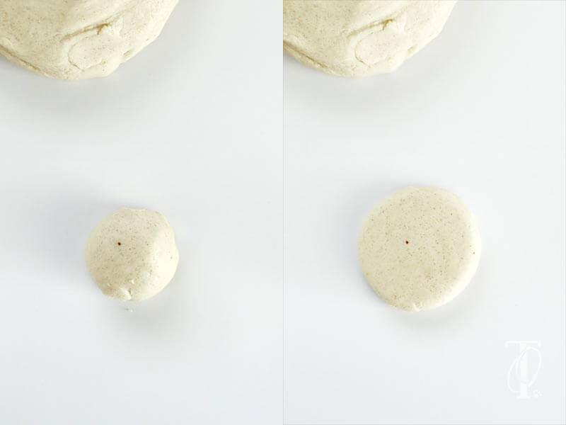 Salzteig herstellen und einen Keksstempel basteln