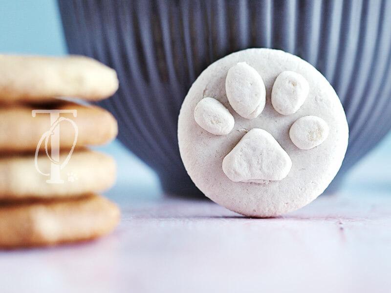 Keksstempel mit Pfotenabdruck aus Salzteig selbermachen