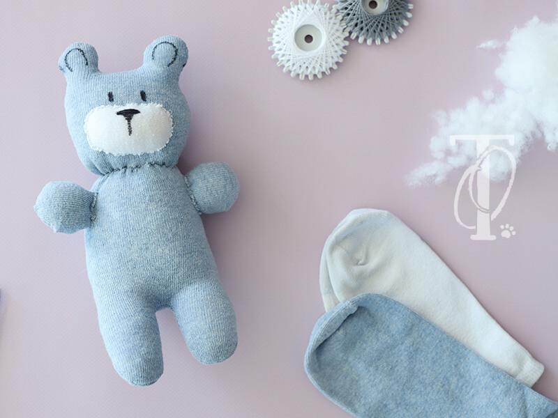 Upcycling für Socken: Kuscheltier nähen
