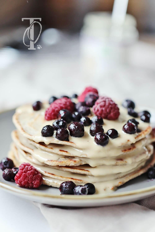 Buchweizen-Pancakes für Hunde backen