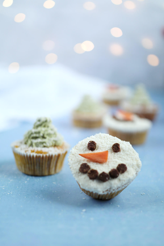 Rezept Muffins für Hunde zu Weihnachten backen