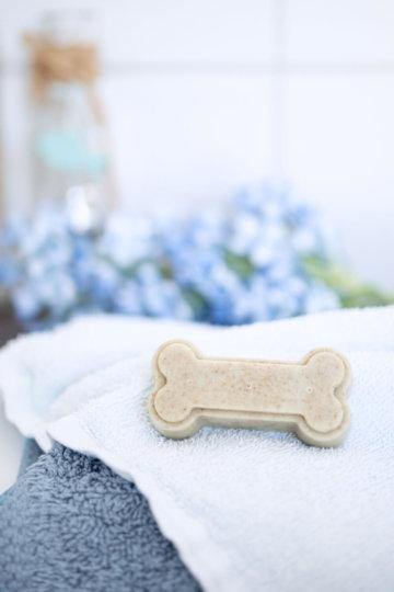 Hundeseife selber machen – easy-peasy Rezept mit nur 3 Zutaten