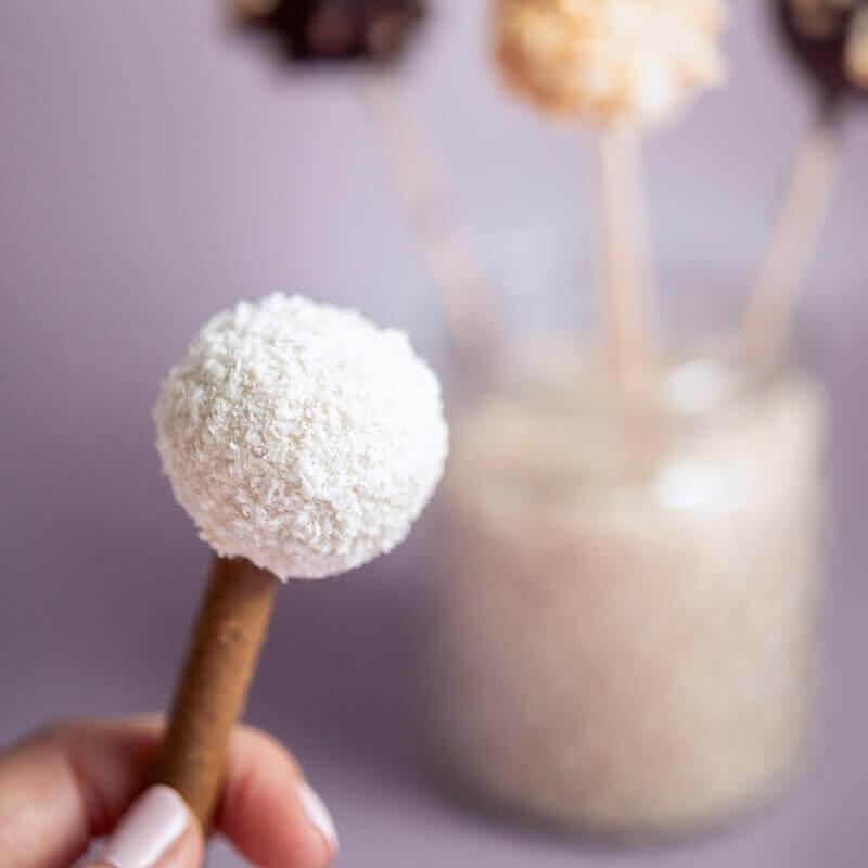 Ein Rezept für Cake Pops ohne Zucker